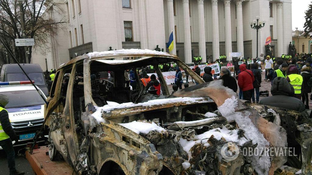 ''Евробляхеры'' перекрыли дороги Украины: карта, видео и фото