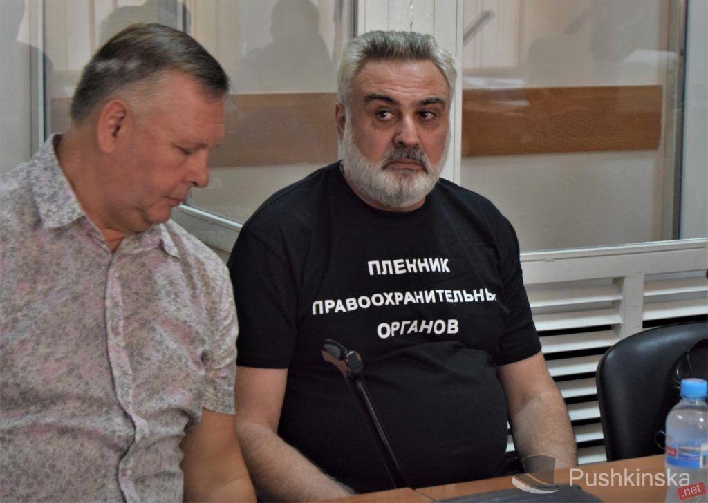Директор табору Петрос Саркісян (праворуч)