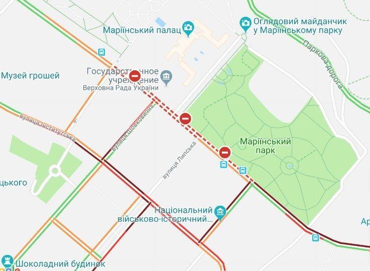 Владельцы евроавто парализовали центр Киева: подробности