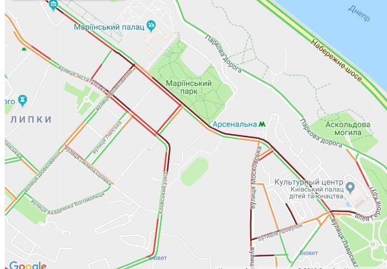 Власники євроавто паралізували центр Києва: подробиці