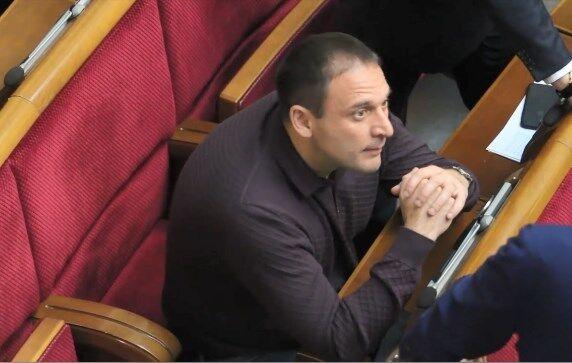 Дмитро Добкін у Раді 20 листопада