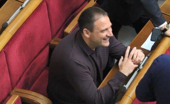 Дмитрий Добкин в Раде 20 ноября