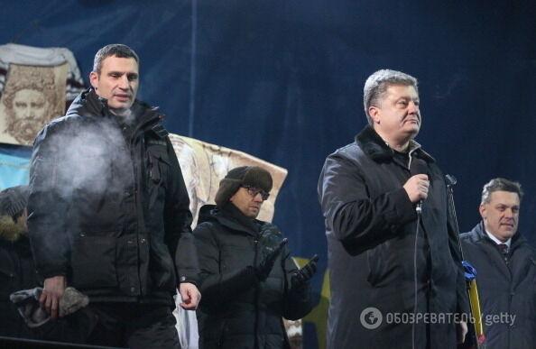 Пять лет Евромайдану и Революции Достоинства: самые мощные фото исторических дней