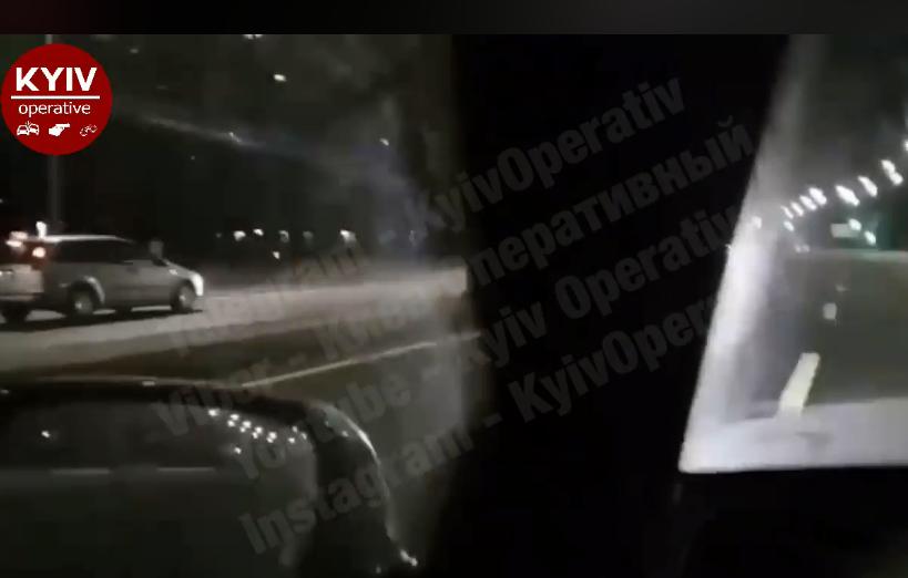 ''Почувствовал себя бессмертным'': в Киеве засняли лихого водителя на встречке