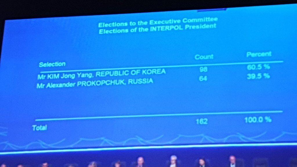 ''Россия в ауте!'' Интерпол выбрал нового главу