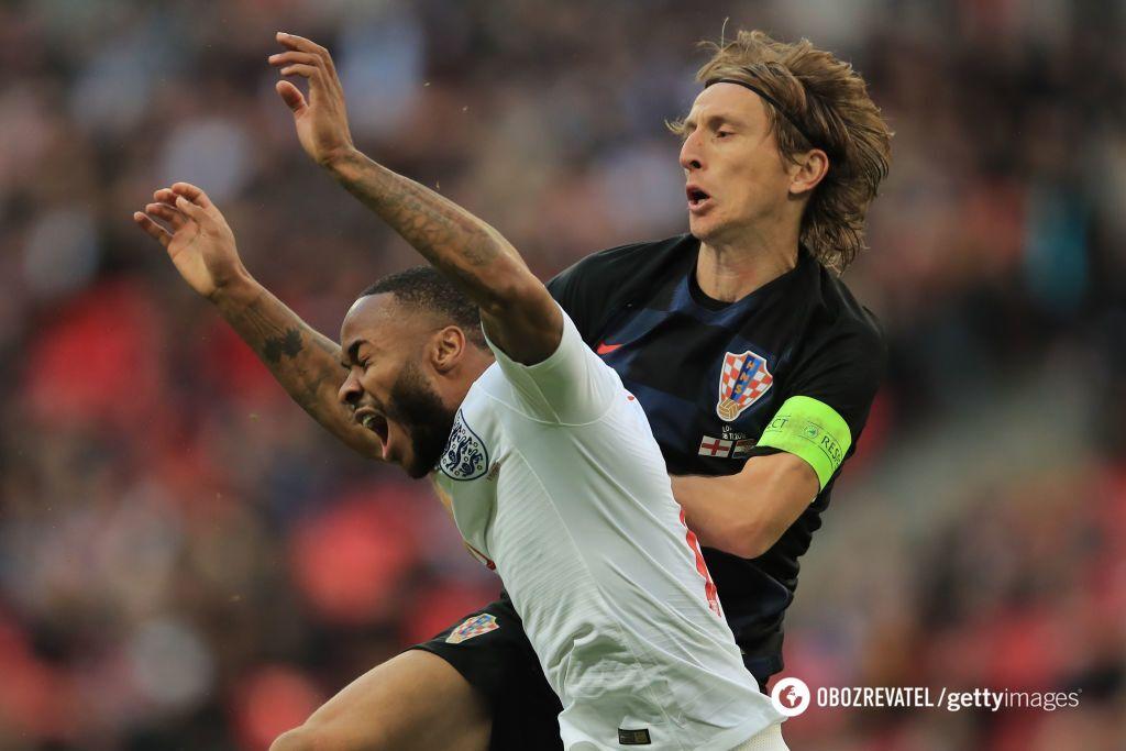 Англия против Хорватии