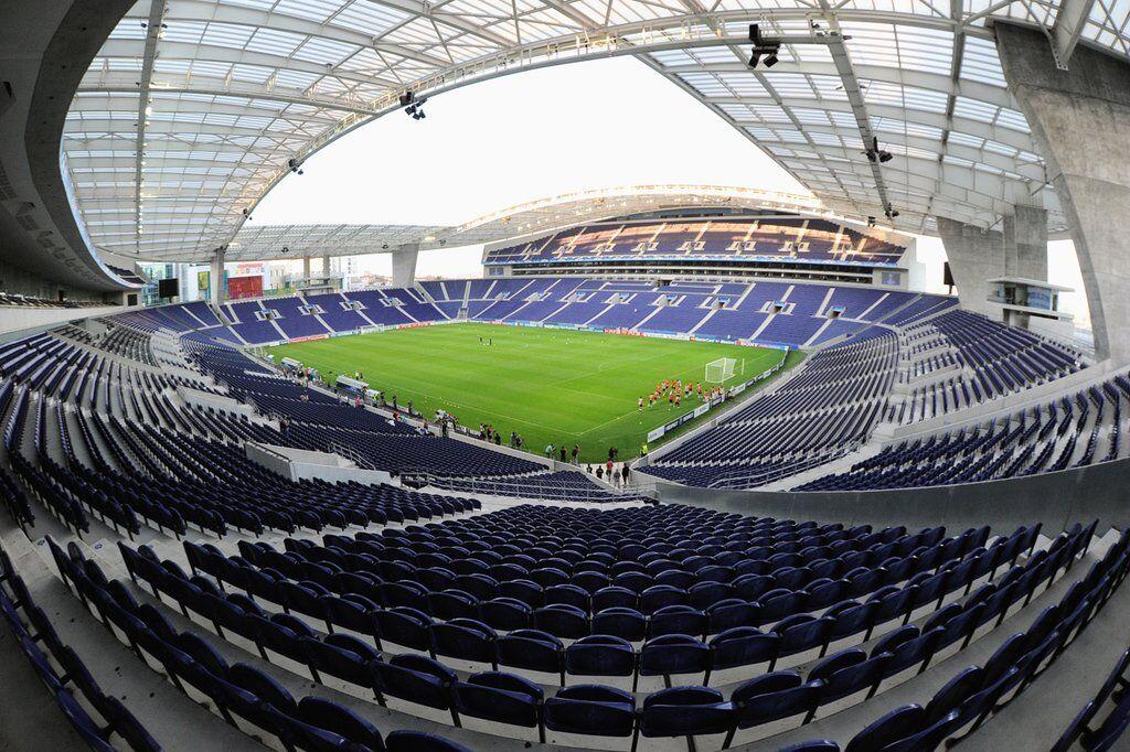 """Стадіон """"Драгао"""" в Порту, на якому, ймовірно, пройде фінал плей-офф Ліги націй"""