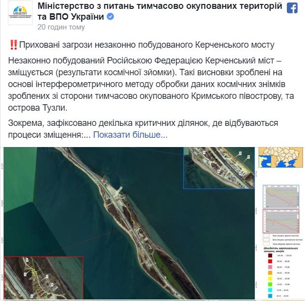 У Росії запанікували через ''рух'' Кримського мосту