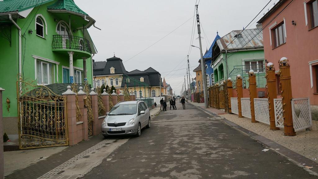 Ромське село Підвиноградів