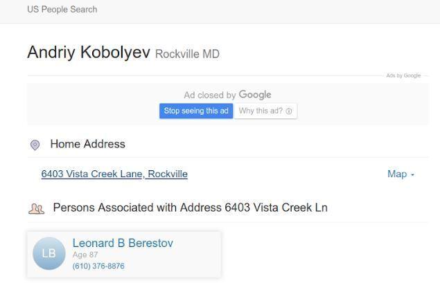 Журналісти показали особняк матері Коболєва в США