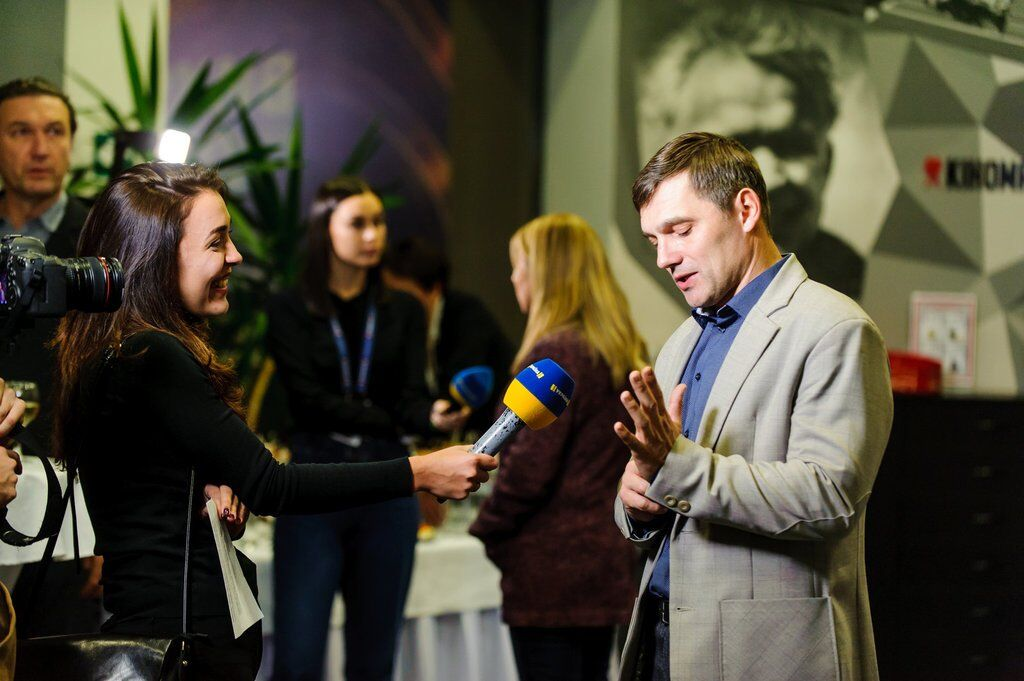 "Прес-служба телеканалу ""Україна"""
