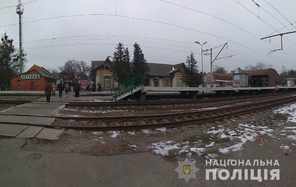 Під Києвом жінку насмерть збив потяг