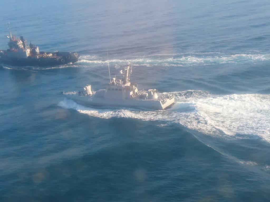 Провокация России в море