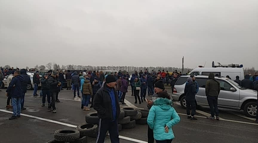 На границе с Польшей устроили бунт из-за ''евроблях''