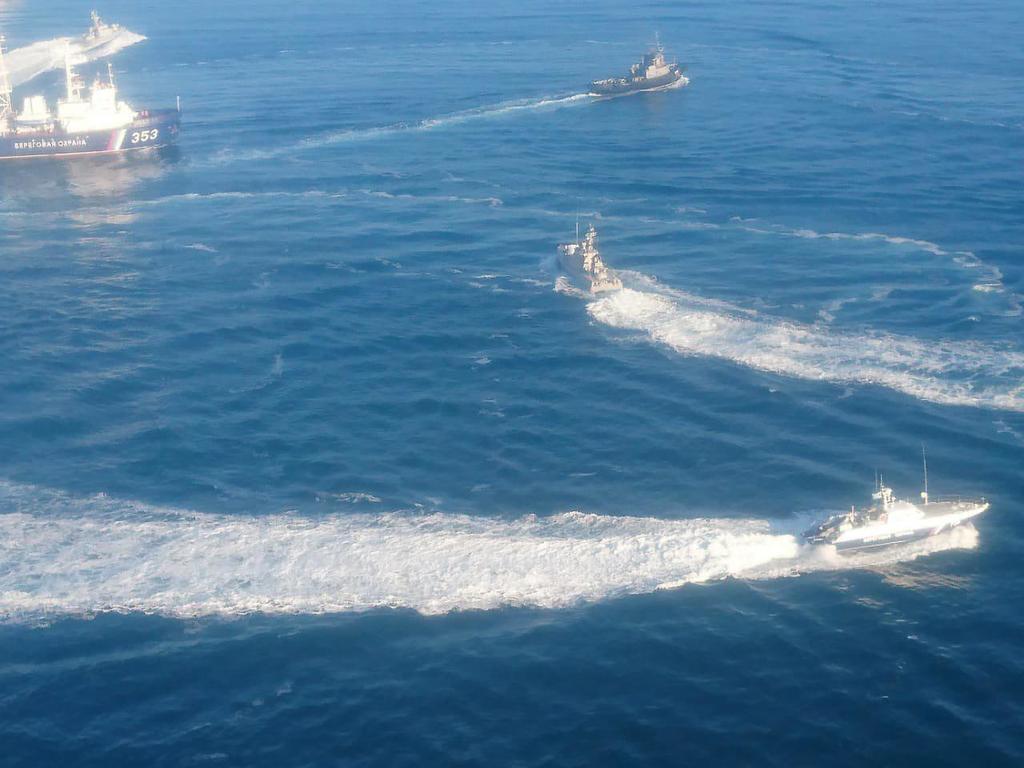 Фото з місця конфлікту