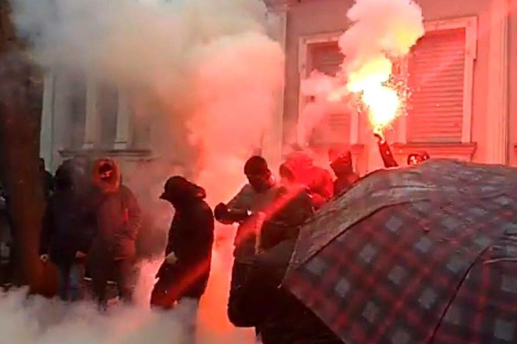 По Украине прокатилась волна протестов против РФ