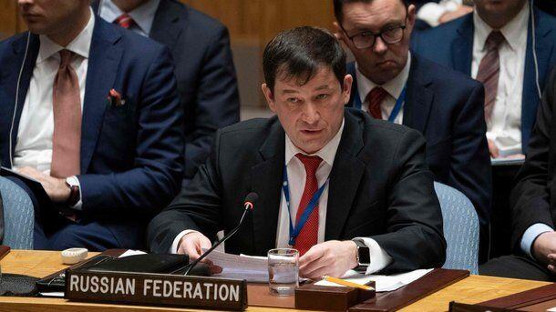 Представитель России на Совбезе ООН