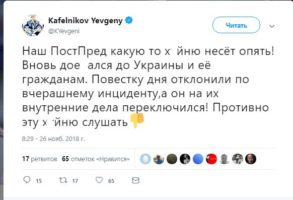 ''До*бались до України'': Кафельников - про РФ в ООН