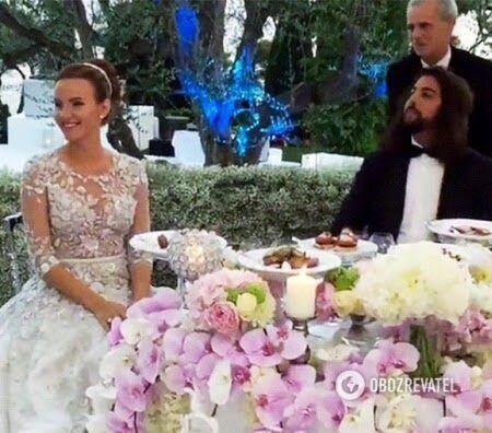 Анастасия Фукс с Масудом Абделхафидом