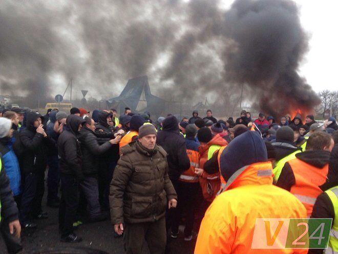 Бунт ''евроблях'' на границе: новые подробности