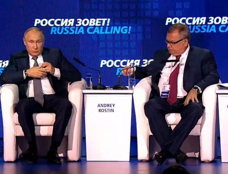 Путін вперше прокоментував агресію у Чорному морі
