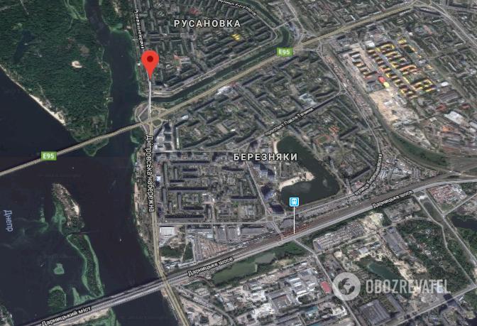 Два авто були викрадені на Дніпровській набережній