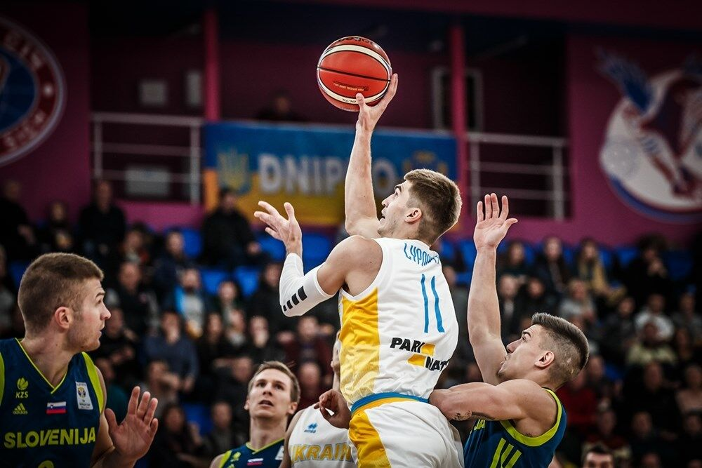 Украина — Словения
