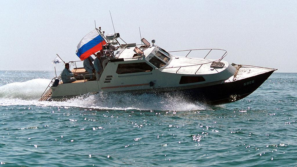 Російський прикордонний катер