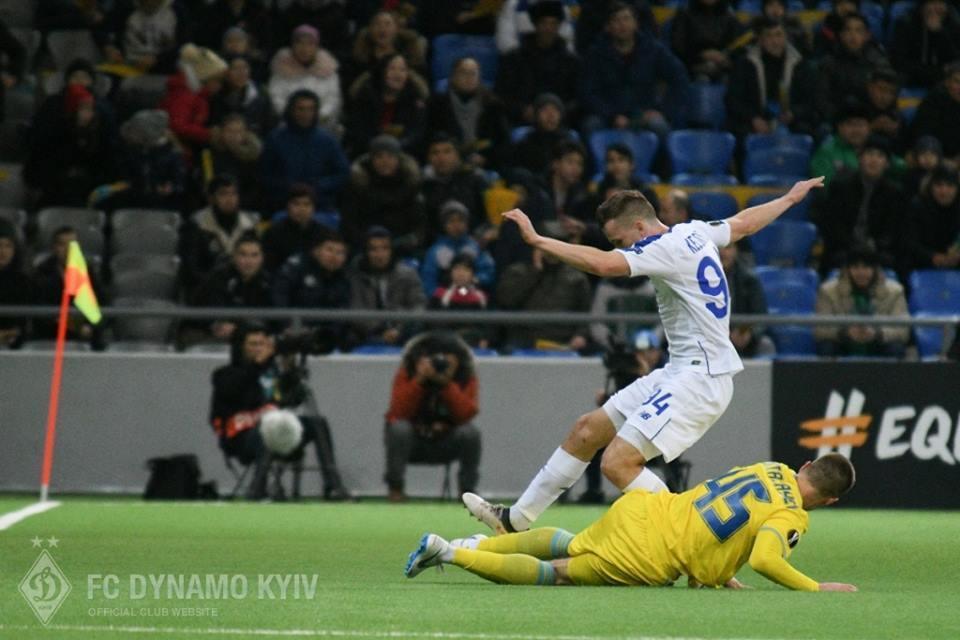 """Достроковий плей-офф """"Динамо"""": Україна в 5-му турі Ліги Європи"""