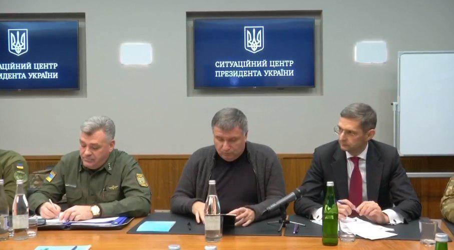 Совещание силовиков с Порошенко