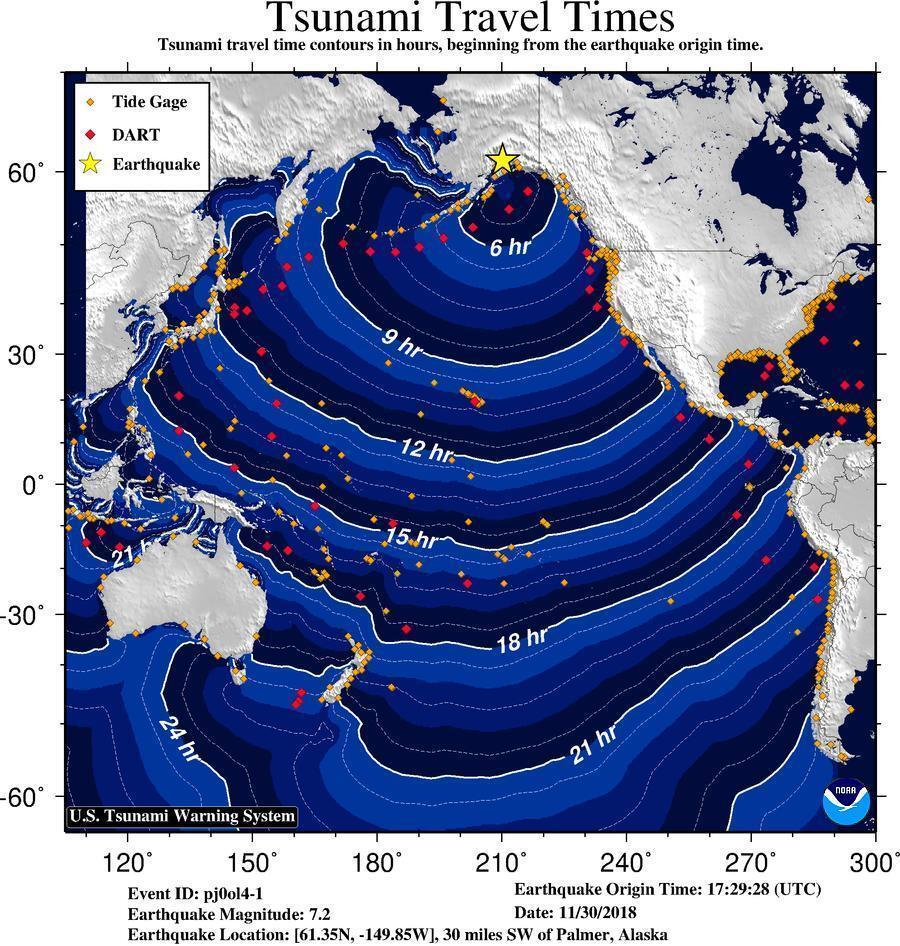США всколыхнуло мощное землетрясение
