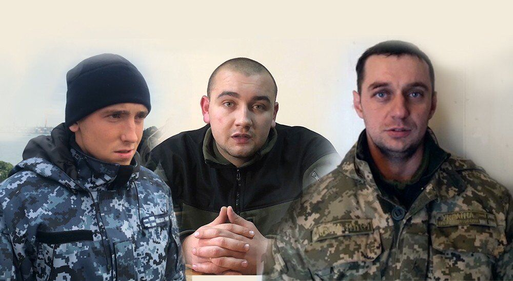 Трое арестованных украинцев