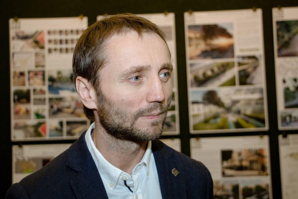 Открытие архитектурного фестиваля в Днепре