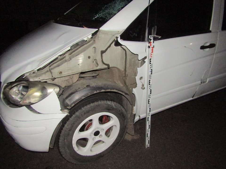 Авто учасника аварії