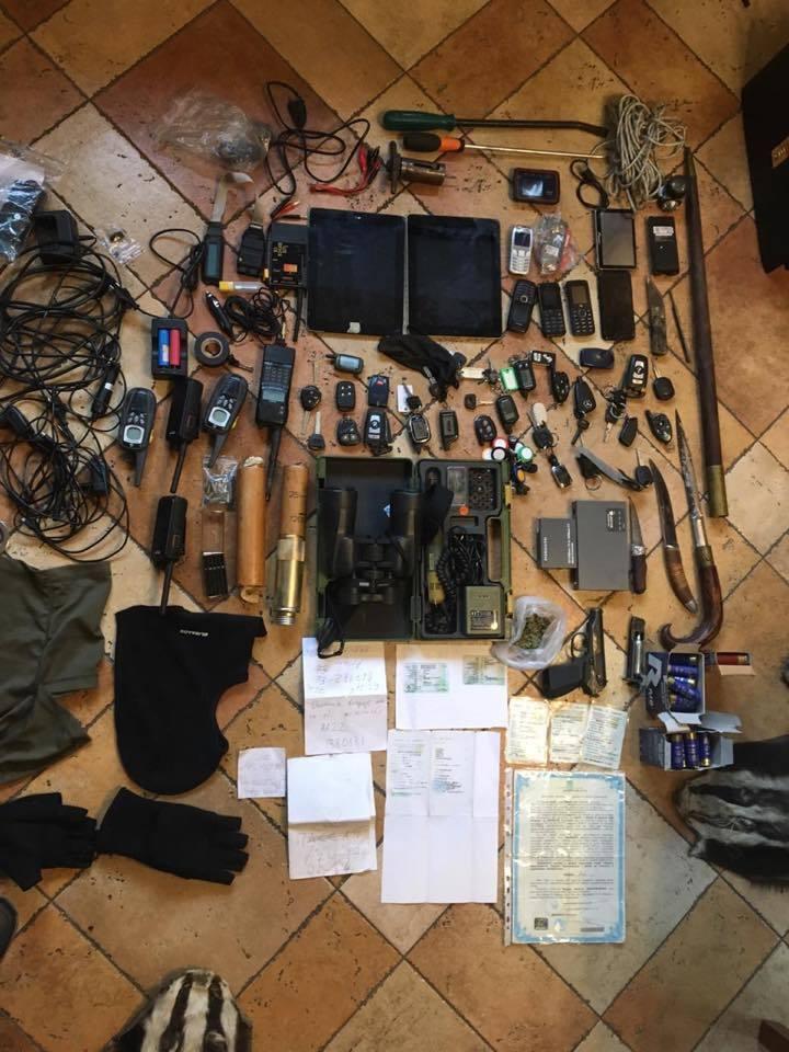 У Києві розкрили банду автозлодіїв: фото
