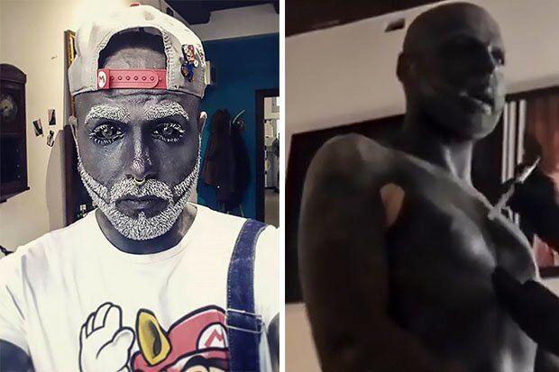 Фотомодель із Росії набив тату на 90% тіла і відрізав собі статевий орган
