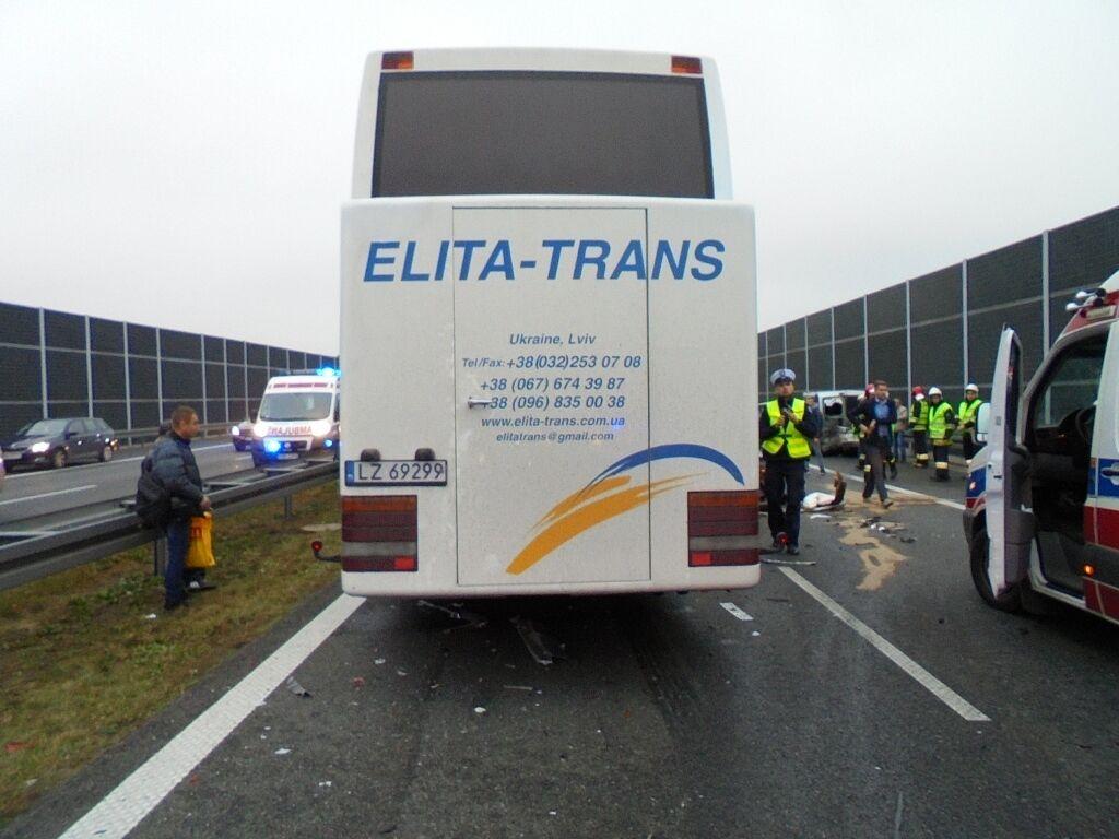 В Польше произошли два ДТП с украинцами: много пострадавших