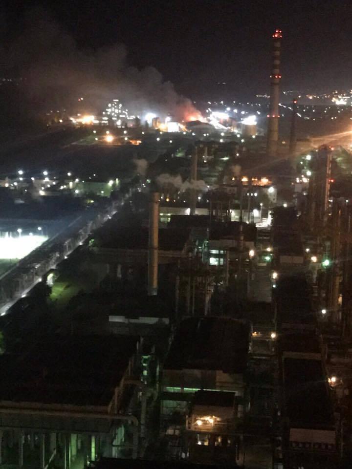 Під Одесою спалахнув завод із переробки олії: усі подробиці