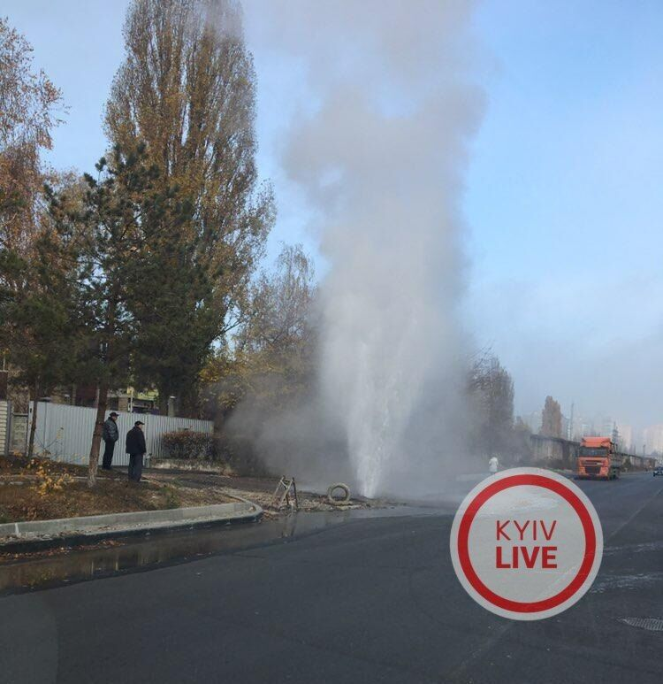 ''Горячая пошла'': в Киеве снова катастрофа с трубами
