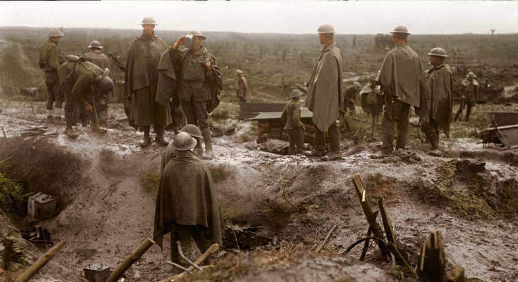 100-летие окончания Первой мировой войны: фотограф показал мрачные снимки