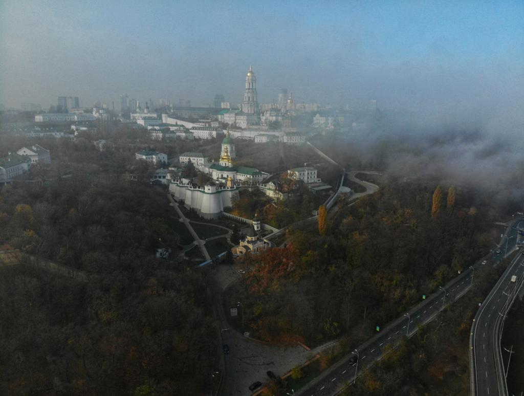 В сети появились красивые фото Киева