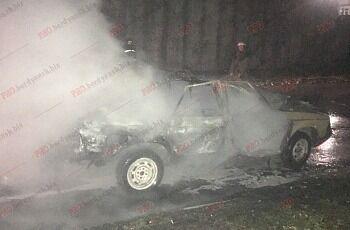 В Бердянске взлетело на воздух авто