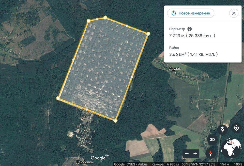 Территория 6-го арсенала хранения боеприпасов в Черниговской области