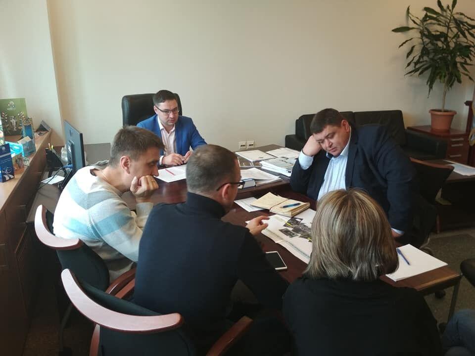 Совещание в Министерстве инфраструктуры Украины