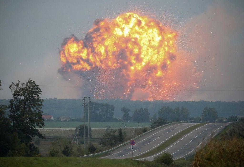 Росія? Названа причина вибухів в Ічні