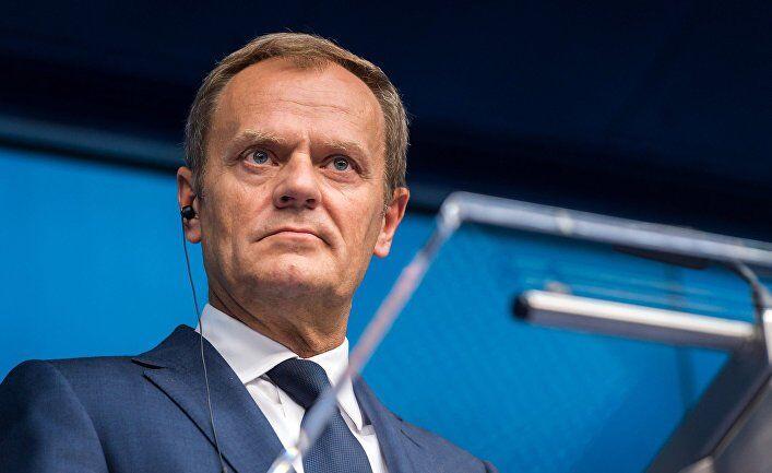 ''Кто не осуждает Путина — не европеец'': Туск выступил с мощным посланием на встрече с Порошенко