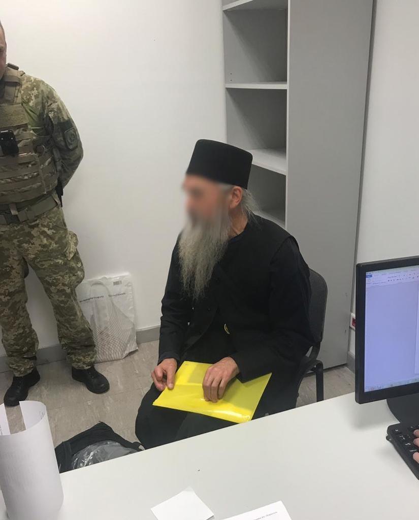 В Украине поймали священника с паспортом России