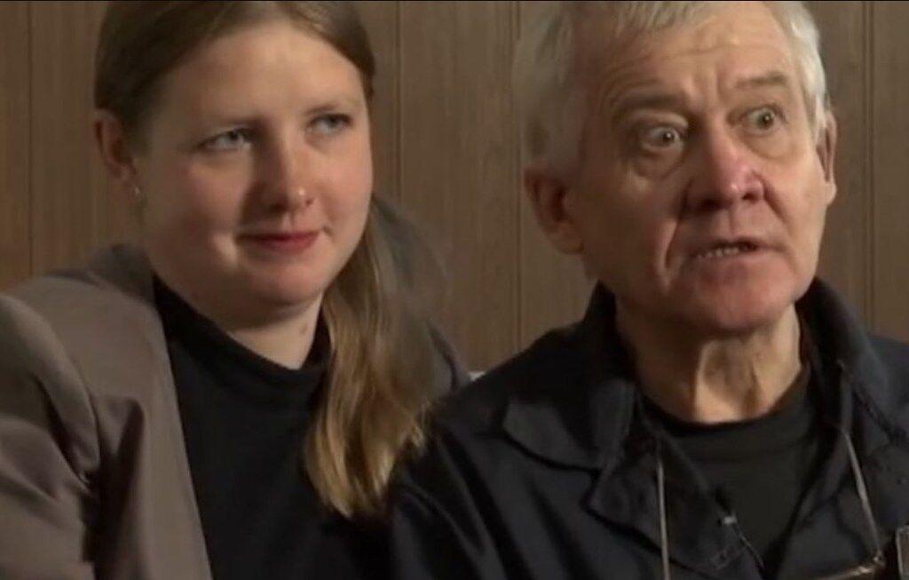 Сергей Ткач и его жена