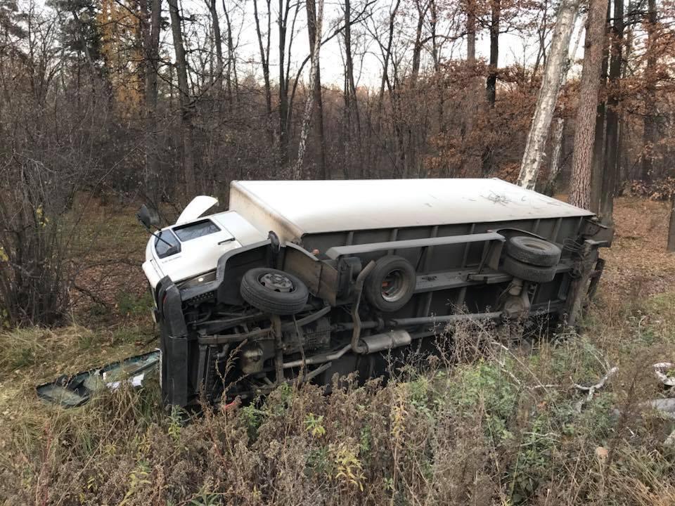 В авто Лещенко врезался грузовик: первые фото
