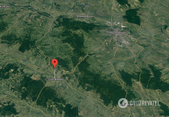 ДТП произошло в городе Сторожинец